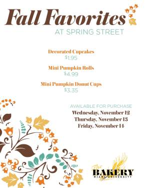 Fall Bakery Promo 2014 posters6