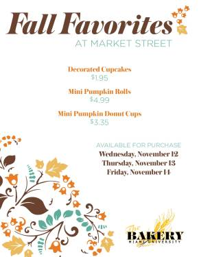 Fall Bakery Promo 2014 posters7