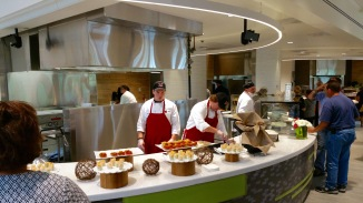 Garden Commons is buffet-style, offering students and staff a variety of options.
