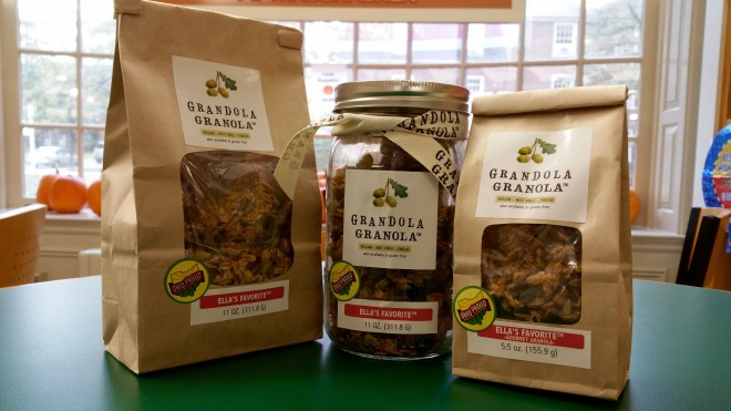 Grandola Granola is out of Cincinnati, offering customers with a vegan granola option.