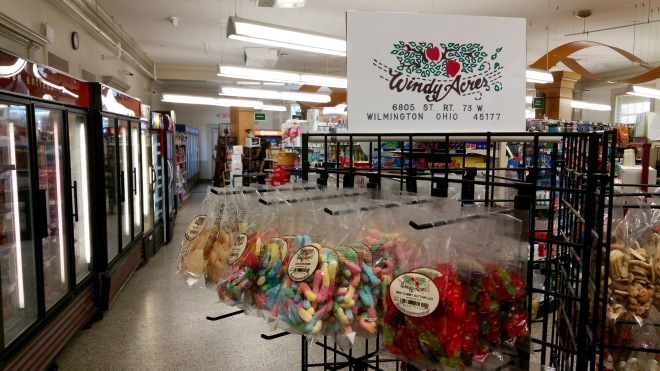 You can find Windy Acres products on campus in MacCracken Market.