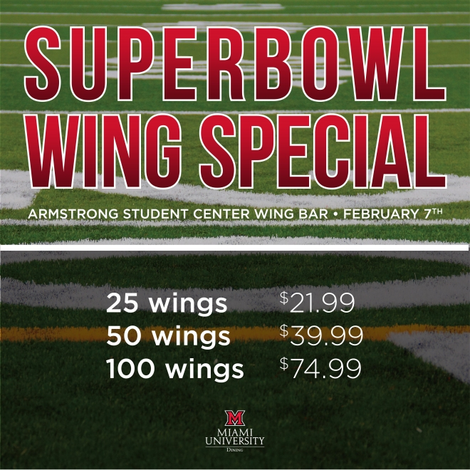 Party Size Wings available at Wing Bar