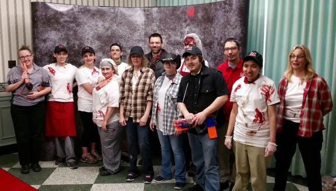 Thank you for joining us at Harris for Zombie Dinner!