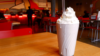 Young's Jersey Dairy provides the ice cream used in the Encounter milkshakes.