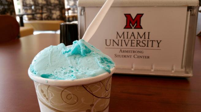 Miami Ice serves homemade gelato daily.