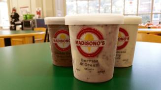 Madisono's Gelato & Sorbetto is available at Market Street at MacCracken.