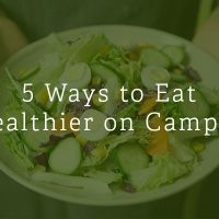 5 Tips to Eat Healthier on Campus