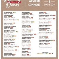 Healthy Miami Dinner Menu